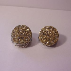 Sarah Coventry Reversible Clip Earrings